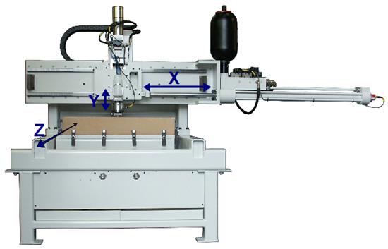 Single Cutter Test Machine
