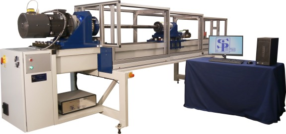 Static and Low Cycle Tension/Torsion Machine