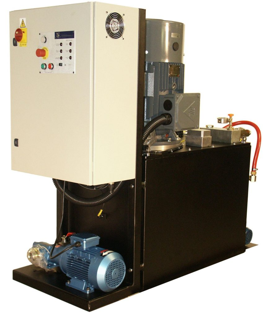 90 litres per minute water-cooled HPU