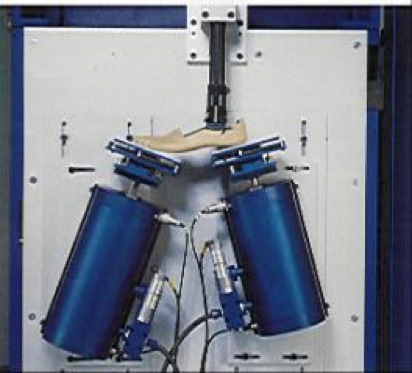 Single/dual sided limb test machine