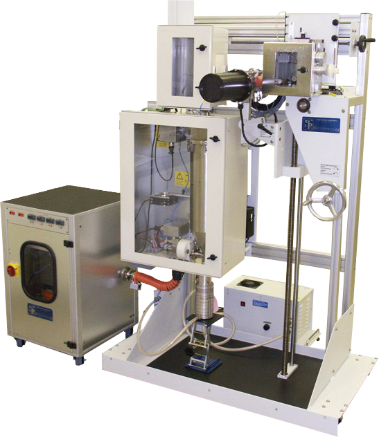 Breathing simulator developed for use in the pharmaceutical industry