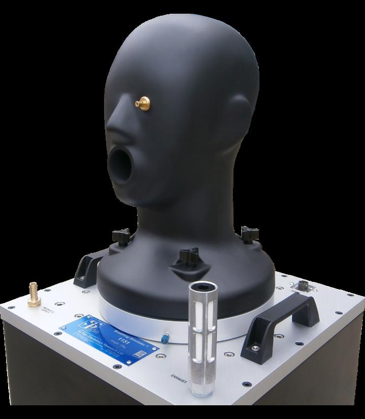 Human Breathing Mask Testing