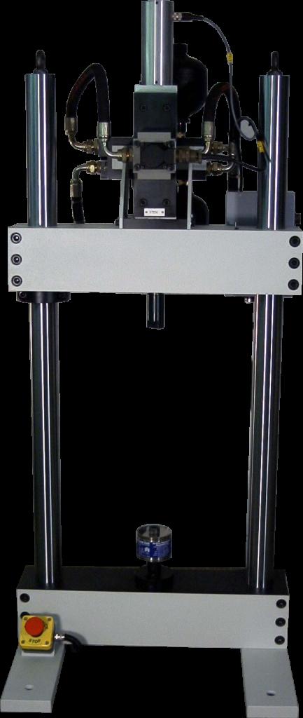 Servo-hydraulic fatigue test machine <br />5-25kN bench top system