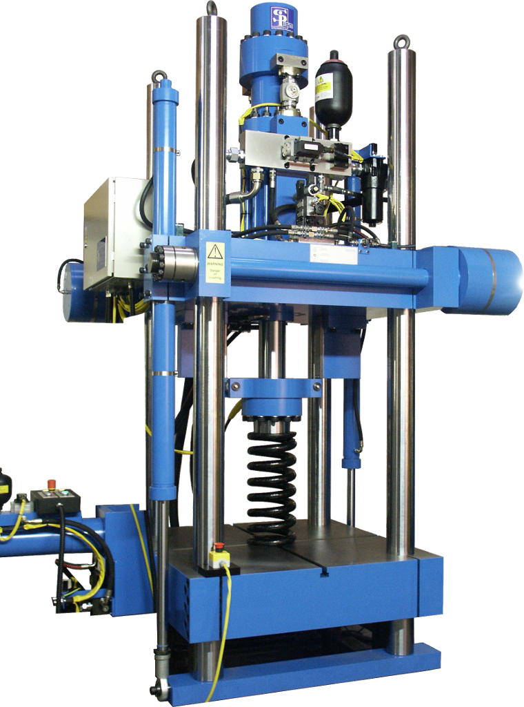 4 Column 2 Axis Servo-hydraulic Test Machine