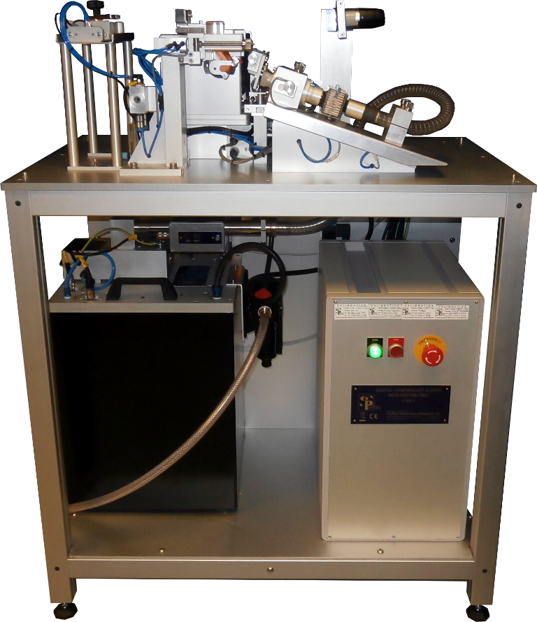 Breathing simulator developed for use in the pharmaceutical industry for inhaler testing
