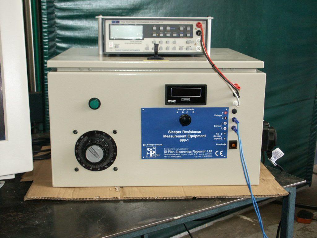 Sleeper resistance measurement<br />to BS EN 13146-5