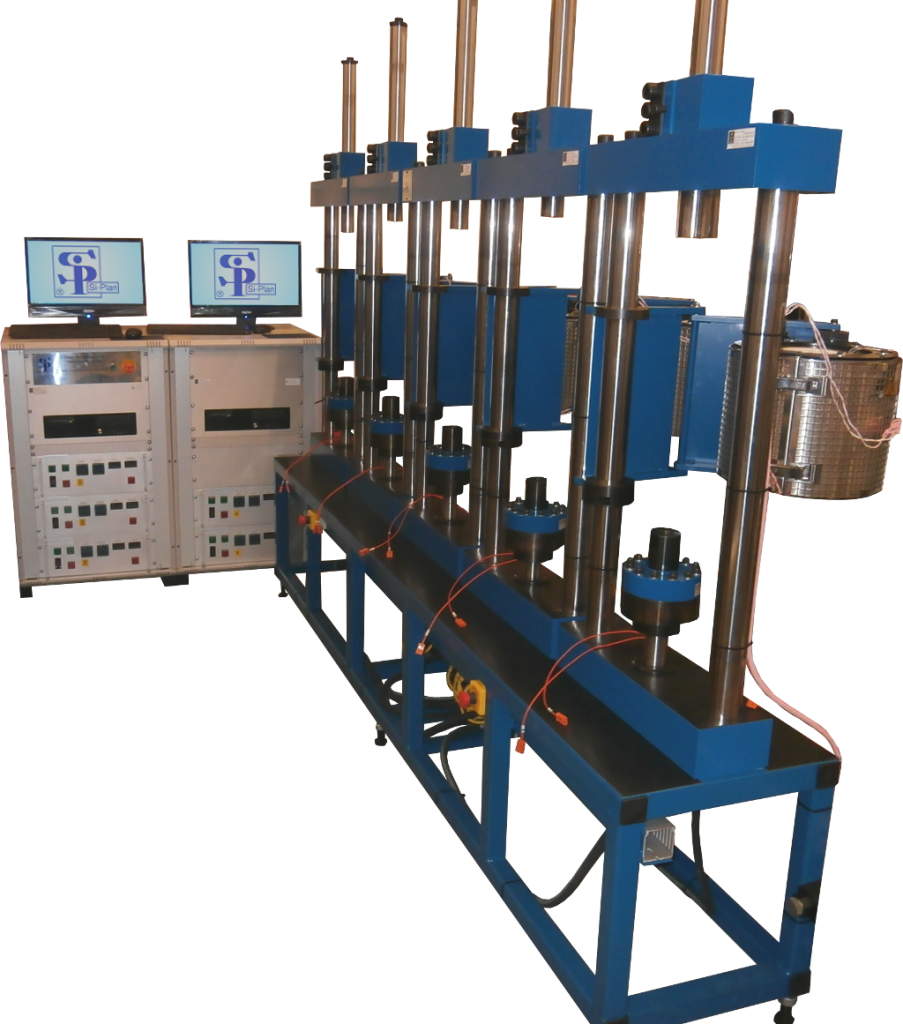 5 Station test machine suite